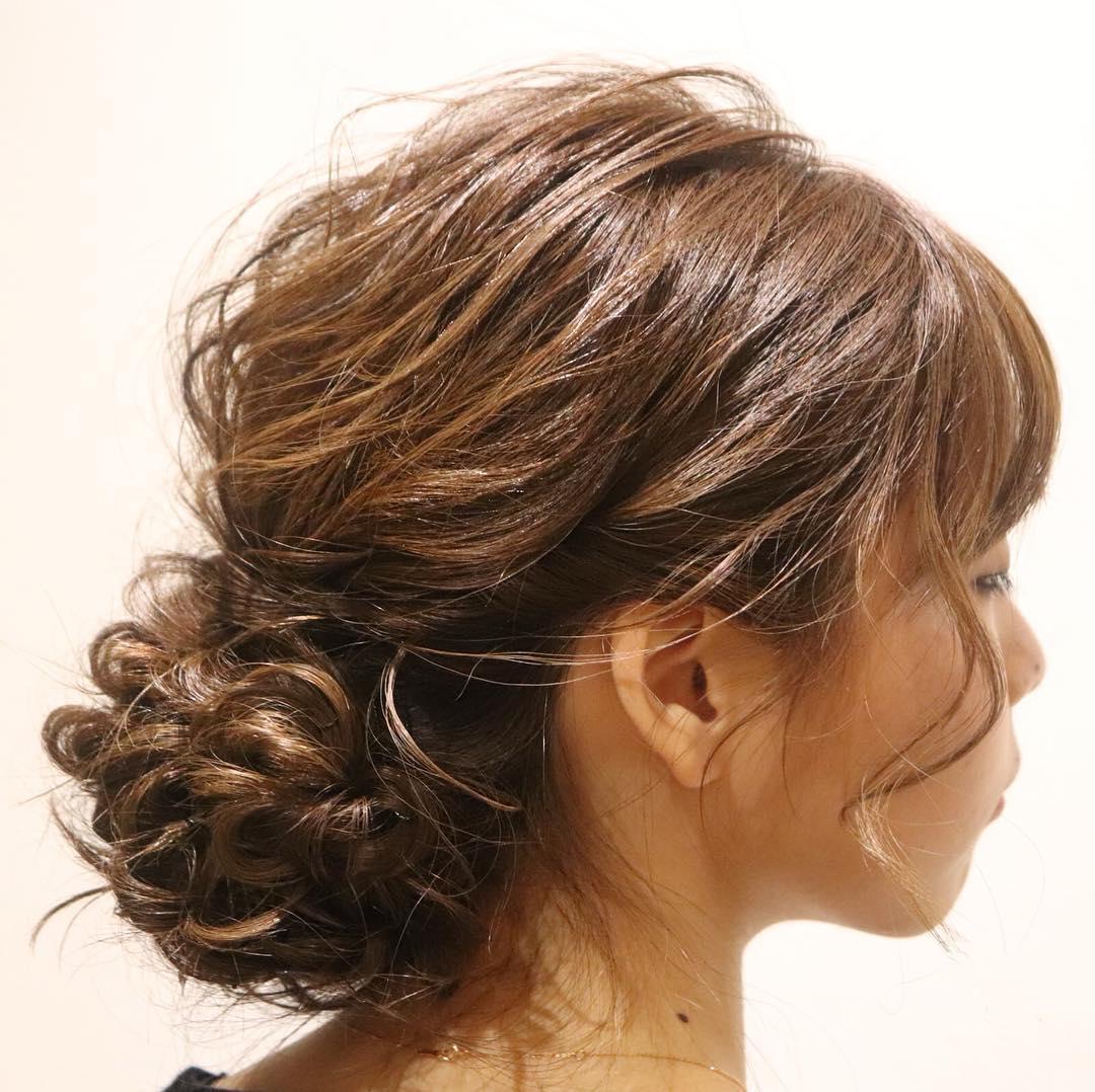 アップスタイル︎...stylist  坂口model mi#Ciel#常陸多賀美容室#ヘアアレンジ#ヘアアレンジ簡単#美容師#hair